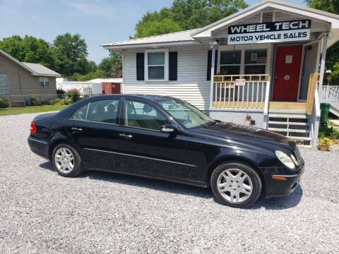 2006 Mercedes-Benz E-Class for sale at Wheel Tech Motor Vehicle Sales in Maylene AL