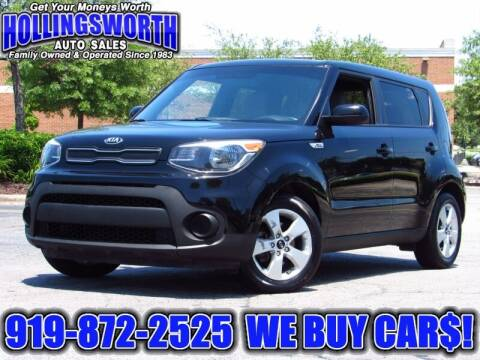 2018 Kia Soul for sale at Hollingsworth Auto Sales in Raleigh NC