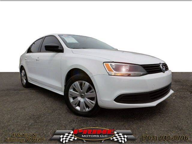 2014 Volkswagen Jetta for sale at PRIME MOTORS LLC in Arlington VA