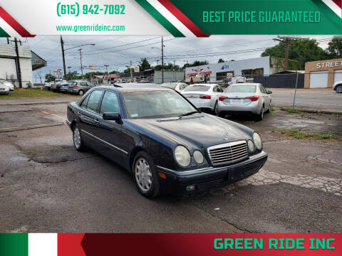 1996 Mercedes-Benz E-Class for sale at Green Ride Inc in Nashville TN