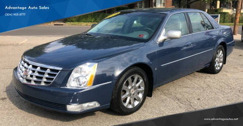 2008 Cadillac DTS for sale at Advantage Auto Sales in Wheeling WV