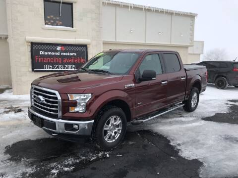 2017 Ford F-150 for sale at Diamond Motors in Pecatonica IL