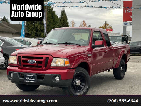 2008 Ford Ranger for sale at Worldwide Auto Group in Auburn WA
