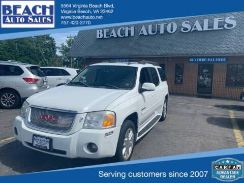 2006 GMC Envoy XL for sale at Beach Auto Sales in Virginia Beach VA