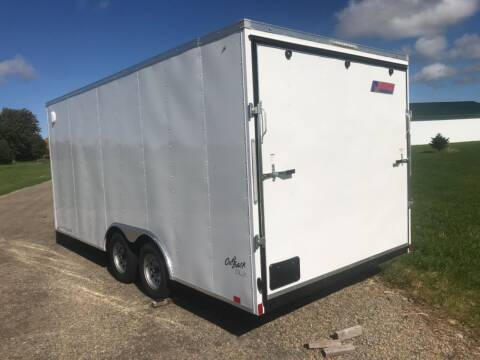 2022 Pace American 8.5x18 V-Nose Tandem Axle (7K)