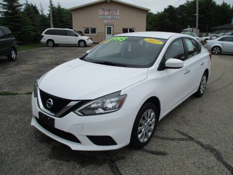 2017 Nissan Sentra for sale at Richfield Car Co in Hubertus WI
