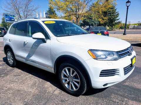 2013 Volkswagen Touareg for sale at J & M PRECISION AUTOMOTIVE, INC in Fort Collins CO