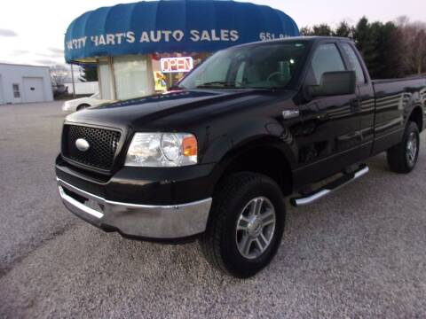 2006 Ford F-150 for sale at Marty Hart's Auto Sales in Sturgis MI