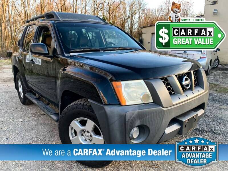 2008 Nissan Xterra for sale at High Rated Auto Company in Abingdon MD