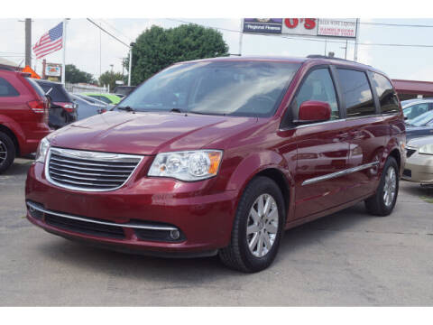 2016 Chrysler Town and Country for sale at Watson Auto Group in Fort Worth TX