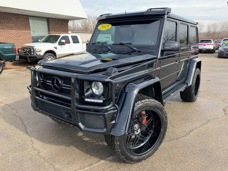 2015 Mercedes-Benz G-Class for sale at Auto Mall of Springfield north in Springfield IL