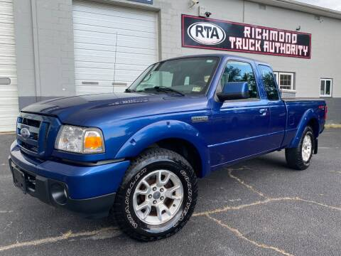 2011 Ford Ranger for sale at Richmond Truck Authority in Richmond VA