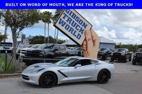 2014 Chevrolet Corvette for sale at Gibson Truck World in Sanford FL