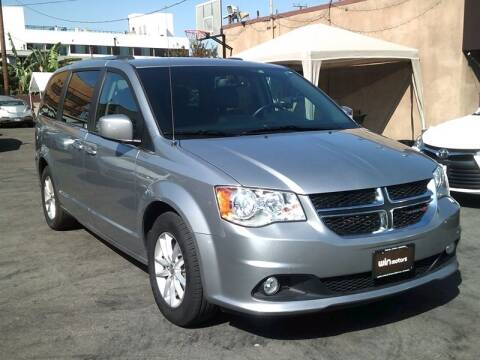 2018 Dodge Grand Caravan for sale at Win Motors Inc. in Los Angeles CA