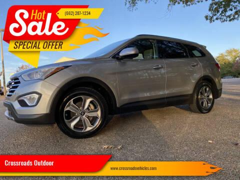 2016 Hyundai Santa Fe for sale at Crossroads Outdoor in Corinth MS