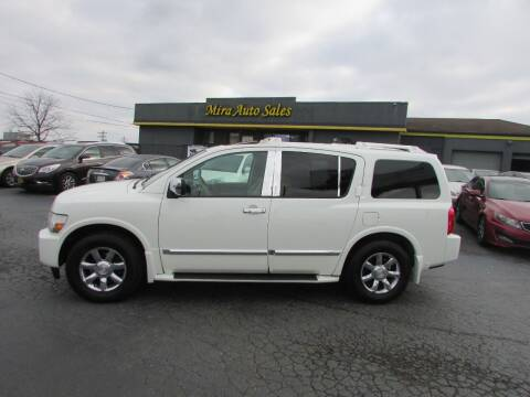2005 Infiniti QX56 for sale at MIRA AUTO SALES in Cincinnati OH