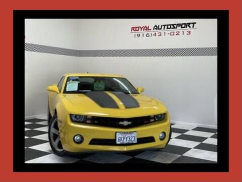 2010 Chevrolet Camaro for sale at Royal AutoSport in Sacramento CA