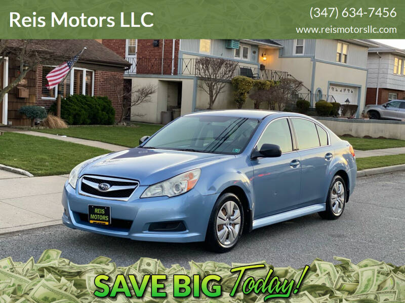 2010 Subaru Legacy for sale at Reis Motors LLC in Lawrence NY
