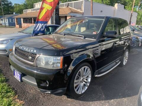 2011 Land Rover Range Rover Sport for sale at 1st Choice Auto Sales in Newport News VA