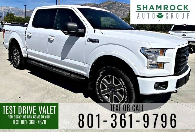2017 Ford F-150 for sale at Shamrock Group LLC #1 in Pleasant Grove UT
