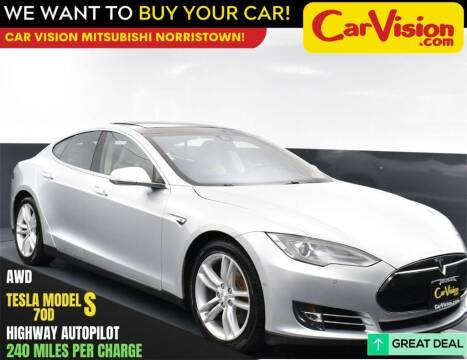2015 Tesla Model S for sale at Car Vision Mitsubishi Norristown in Norristown PA