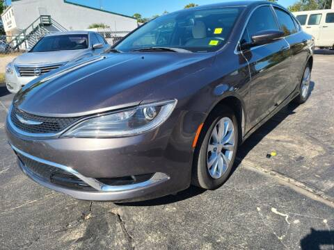 2015 Chrysler 200 for sale at CAR-RIGHT AUTO SALES INC in Naples FL