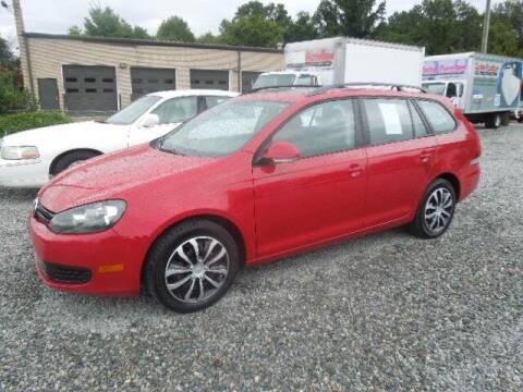 2010 Volkswagen Jetta for sale at Wheels & Deals Smithfield Inc. in Smithfield NC