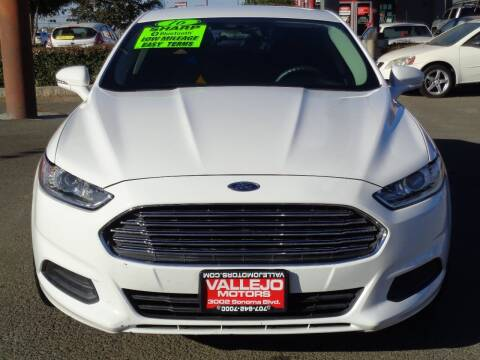 2016 Ford Fusion for sale at Vallejo Motors in Vallejo CA