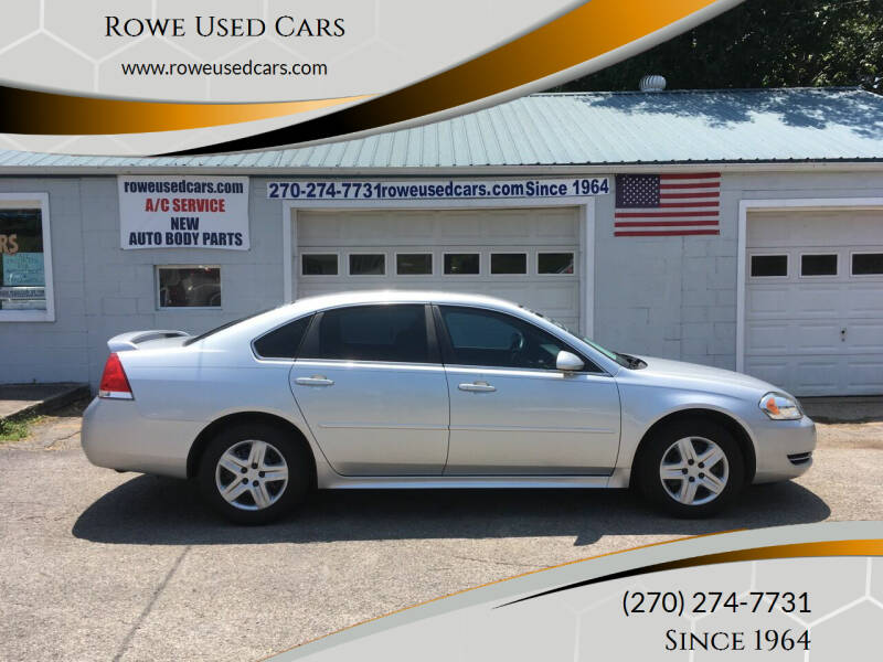 2010 Chevrolet Impala for sale at Rowe Used Cars in Beaver Dam KY