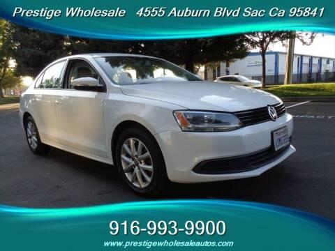 2011 Volkswagen Jetta for sale at Prestige Wholesale in Sacramento CA