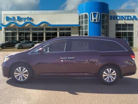 2015 Honda Odyssey for sale at BOB BOYTE HONDA in Brandon MS