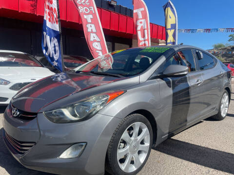 2013 Hyundai Elantra for sale at Duke City Auto LLC in Gallup NM