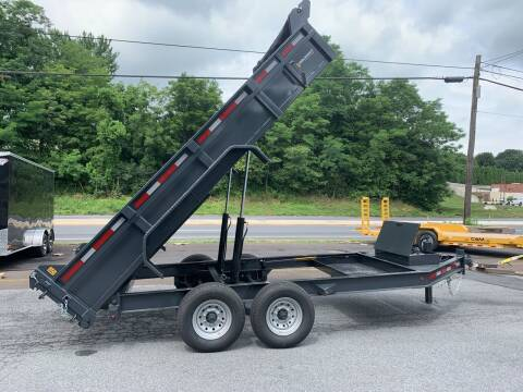 2020 Belmont 7x14 14k Dump Trailer for sale at Smart Choice 61 Trailers in Shoemakersville PA