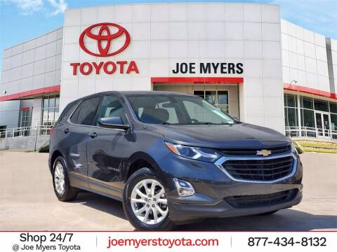 2019 Chevrolet Equinox for sale at Joe Myers Toyota PreOwned in Houston TX
