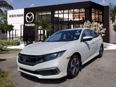 2019 Honda Civic for sale at Mazda of North Miami in Miami FL
