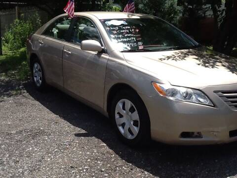 2008 Toyota Camry for sale at Lance Motors in Monroe Township NJ