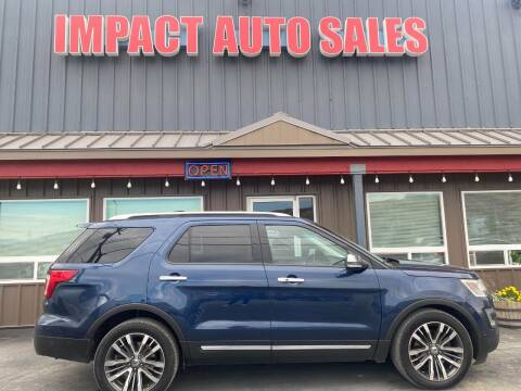 2016 Ford Explorer for sale at Impact Auto Sales in Wenatchee WA