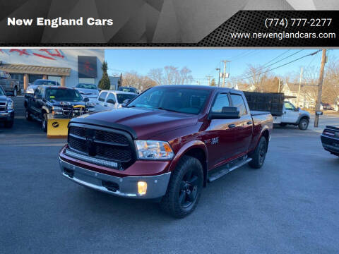 2018 RAM Ram Pickup 1500 for sale at New England Cars in Attleboro MA