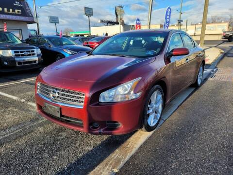 2010 Nissan Maxima for sale at Millennium Auto Group in Lodi NJ
