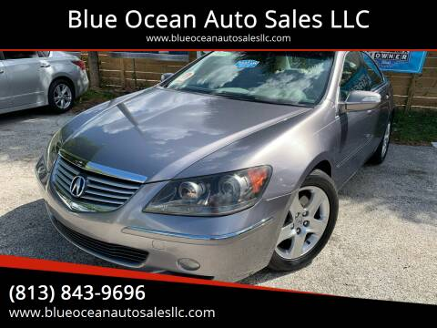 2005 Acura RL for sale at Blue Ocean Auto Sales LLC in Tampa FL