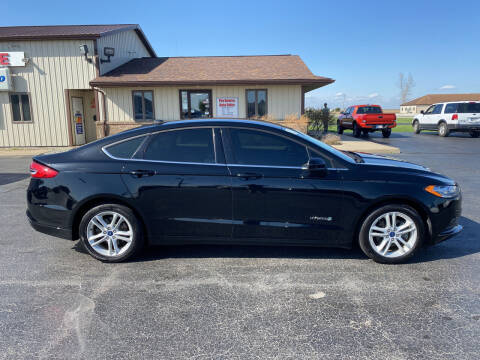 2018 Ford Fusion Hybrid for sale at Pro Source Auto Sales in Otterbein IN