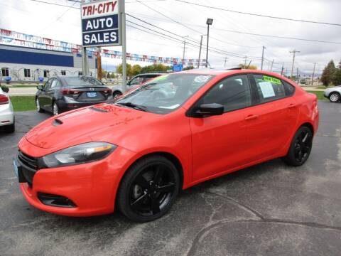 2016 Dodge Dart for sale at TRI CITY AUTO SALES LLC in Menasha WI