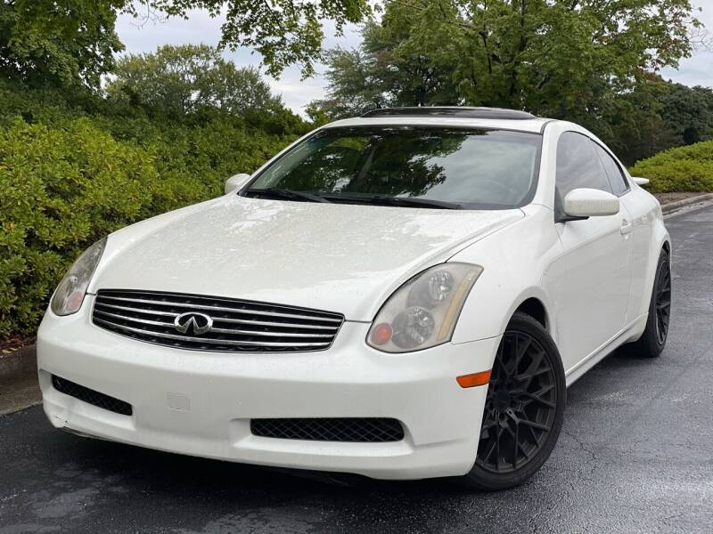2003 Infiniti G35 for sale at William D Auto Sales in Norcross GA