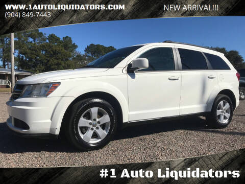 2011 Dodge Journey for sale at #1 Auto Liquidators in Yulee FL