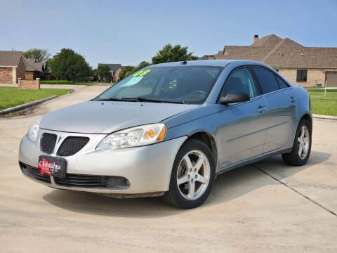 2008 Pontiac G6 for sale at Chihuahua Auto Sales in Perryton TX