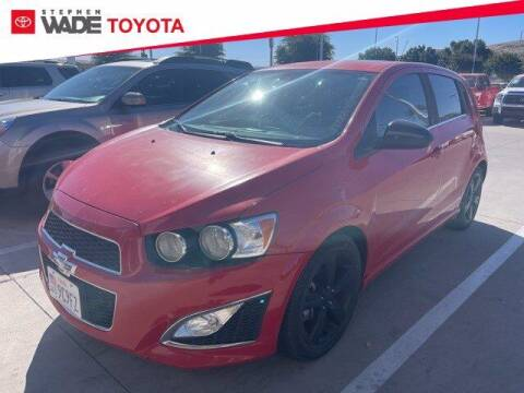 2013 Chevrolet Sonic for sale at Stephen Wade Pre-Owned Supercenter in Saint George UT