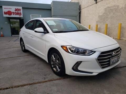 2017 Hyundai Elantra for sale at Joy Motors in Los Angeles CA