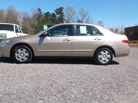 2005 Honda Accord for sale at Car Check Auto Sales in Conway SC