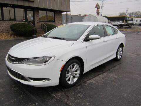 2015 Chrysler 200 for sale at Jacobs Auto Sales in Nashville TN