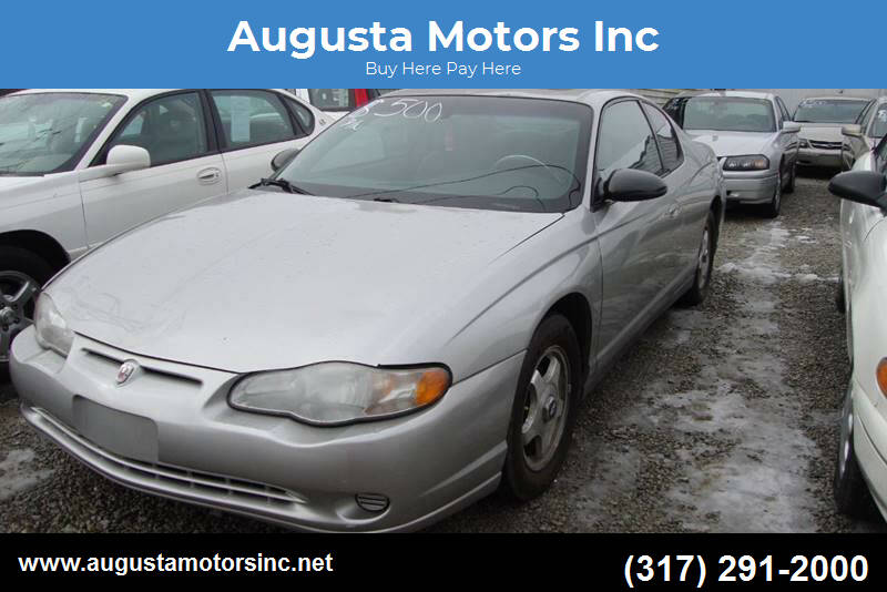 2005 Chevrolet Monte Carlo for sale at Augusta Motors Inc in Indianapolis IN